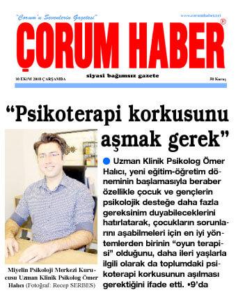 Çorumhaber Gazetesi